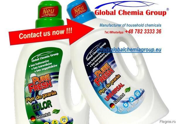 Detergent de rufe TM Oliwia Universal 10kg