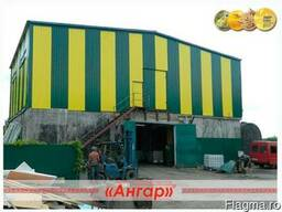 Производство ангаров, навесов, каркасов ангаров - фото 5
