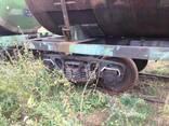 Железнодорожные цистерны, ж/д цистерны на колесных парах - фото 4