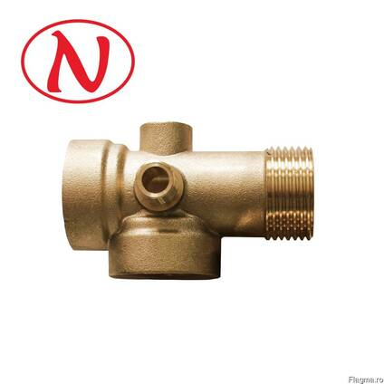 5 Way Brass Pump Fitting Connector for Pressure Vessels /HS