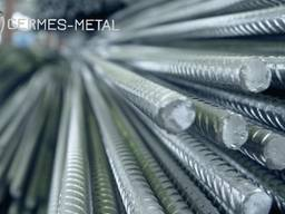 Арматура строительная рифленая (А500) Экспорт арматуры и другого металлопрокат.
