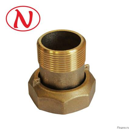 "Brass water meter coupling set - 1"" /С"