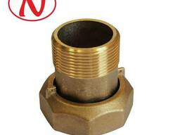 "Brass water meter coupling set - 1 1/2"" /С"
