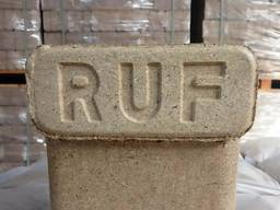 Brichete de esenta tare tip RUF (dreptunghiulare)