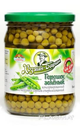 Canned green peas, harvest 2020 / Горошек консервированный