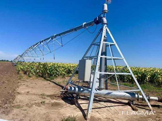 Irrigation machine mesh filter