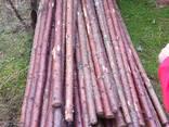 Мелкий, тонкий баланс, мягкой древесины 3,5 / 8 х 220/225 см - фото 1