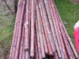 Мелкий, тонкий баланс, мягкой древесины 3,5 / 8 х 220/225 см