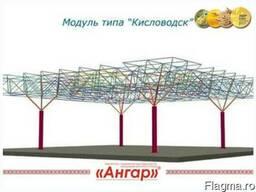 Модульное здание (ангар тип Кисловодск)