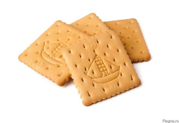 """Печенье сахарное, затяжное, крекер. ТМ """"АМИНА"""""""