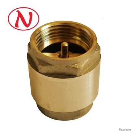 "Water return valve 1"" (brass float) /HS"